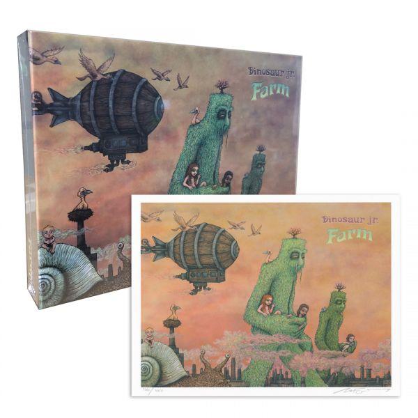 Farm Puzzle + Signed Farm Print Bundle